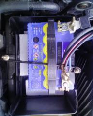 RX-8 バッテリ交換
